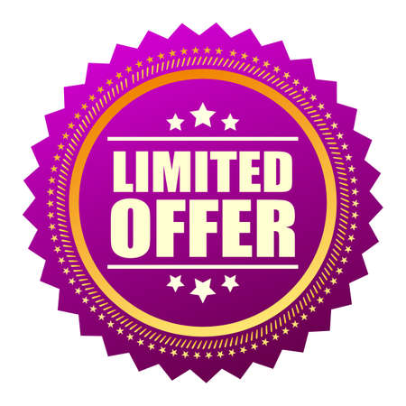 offer icon: Limited offer star icon