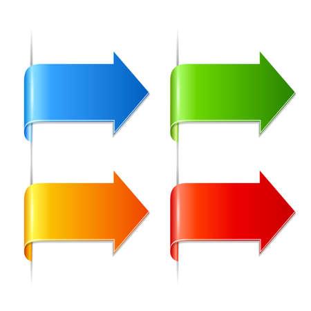 order now: Arrow paper pointers set