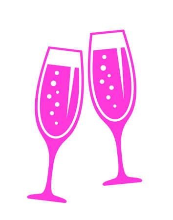 clinking: Celebration vector icon