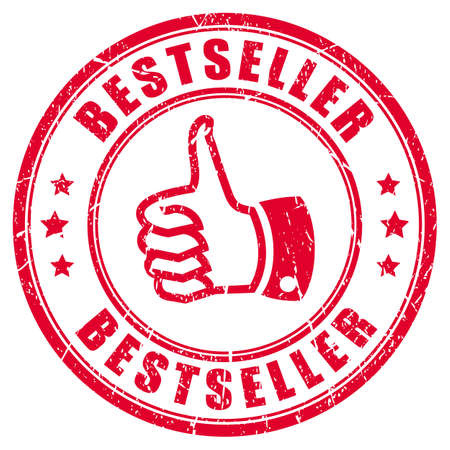 bestseller: Bestseller rubber stamp