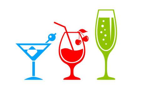 icona del vettore Cocktail