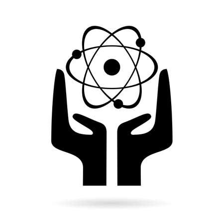atomic energy: Atomic energy sign