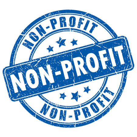 Non-profit rubber stamp Stock Illustratie