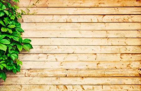 madera luz de fondo