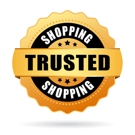 Trusted shopping emblem