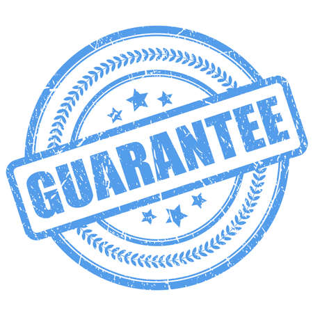 guaranty: Guarantee rubber stamp