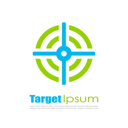 Abstract target Illustration