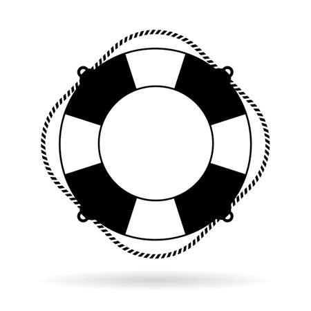 Vida icono de timbre preservador Ilustración de vector