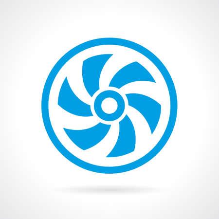 weathercock: Ventilator screw icon