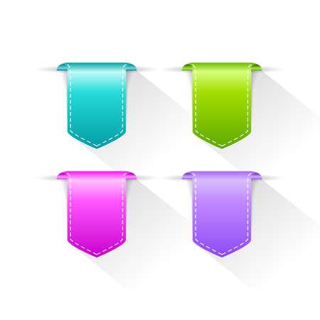 Color bookmarks set