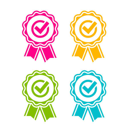Best product ribbons set Illustration