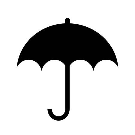 Umbrella silhouette icon