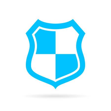 blue shield: Blue shield icon