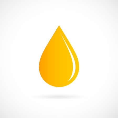 dewdrops: Yellow drop icon