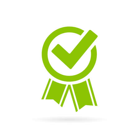 Approved tick certificate Illustration