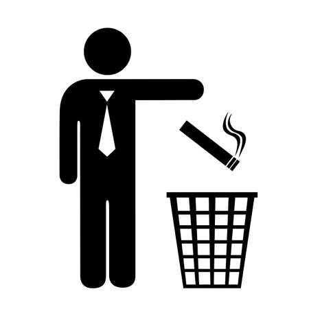 Stoppen met roken icon