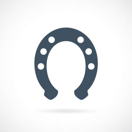 Hufeisen-Vektor-Symbol