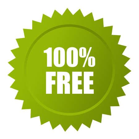 take charge: 100 free icon Illustration