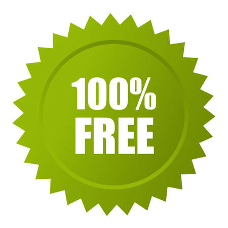 100 free icon Illustration