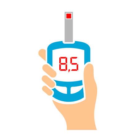 health threat: Blood test medical analyze icon