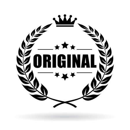 sull'icona del prodotto originale