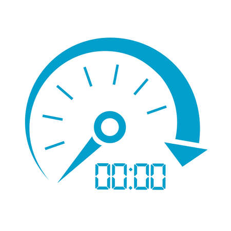 car speed: Car speed vector icon Illustration