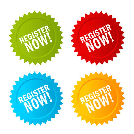 Register now icon Illustration