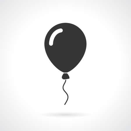 Balloon vector icon Vectores