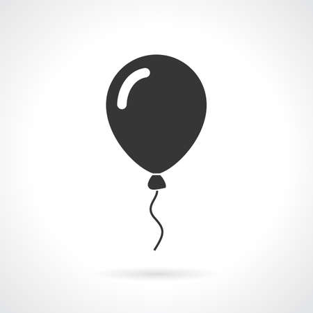 Balloon vector icon Illustration