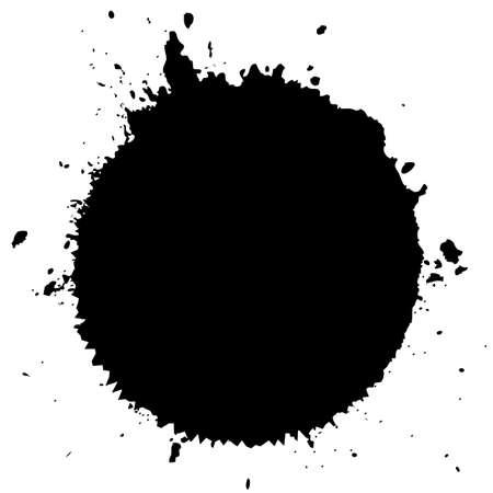 blots: Ink blot splatter