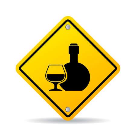 alcoholismo: Muestra del vector del alcohol