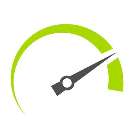 Speedometer vector symbol Illusztráció