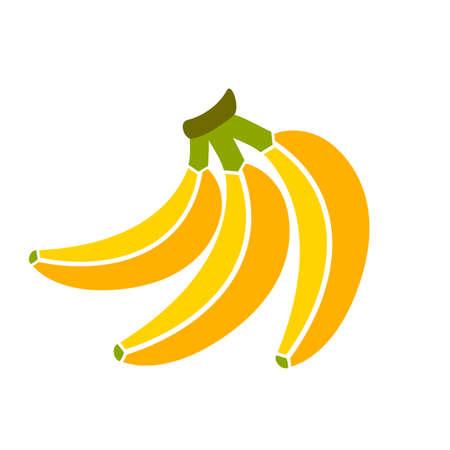 bunch: Bananas bunch illustration