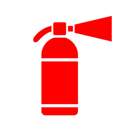conflagration: Extinguisher vector icon