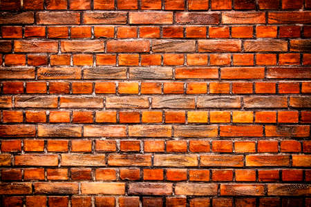 fulvous: Old stone brick wall background