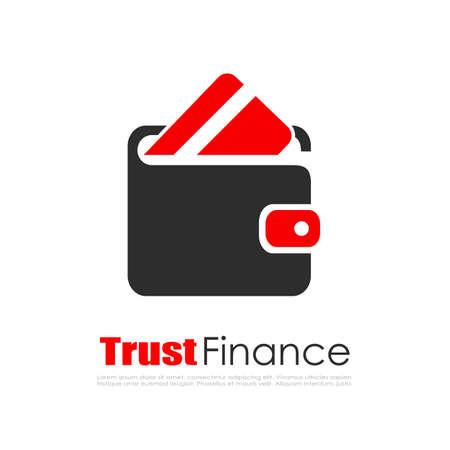 Abstraktes Finanzlogo Standard-Bild - 66777943