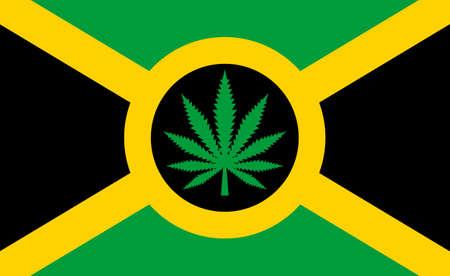 jah: Rastaman flag idea Illustration