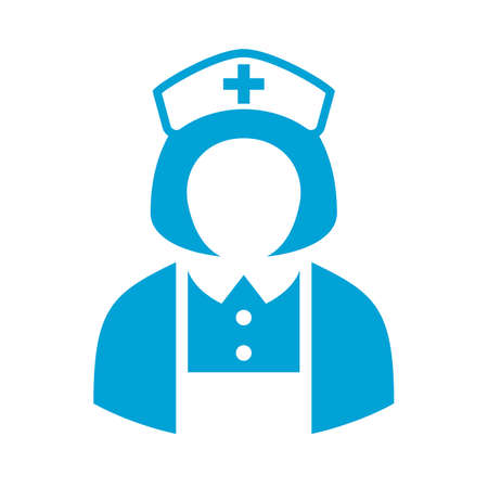 surgeons hat: Hospital nurse avatar icon