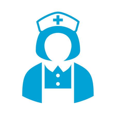 orderly: Hospital nurse avatar icon