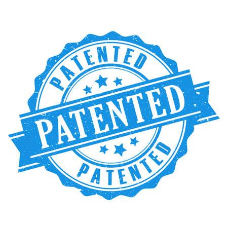 Patentierte Dichtung Symbol Standard-Bild - 66778314
