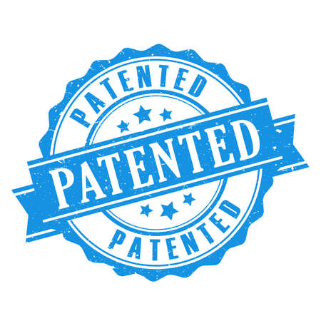 Patented seal icon Illustration