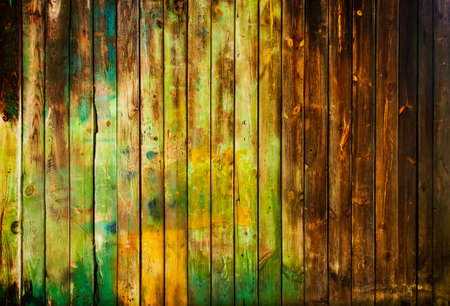 mixed wallpaper: Old wooden planks background