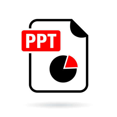 extention: Ppt presentation file icon