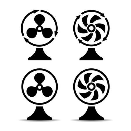 turn table: Desk air blower Illustration