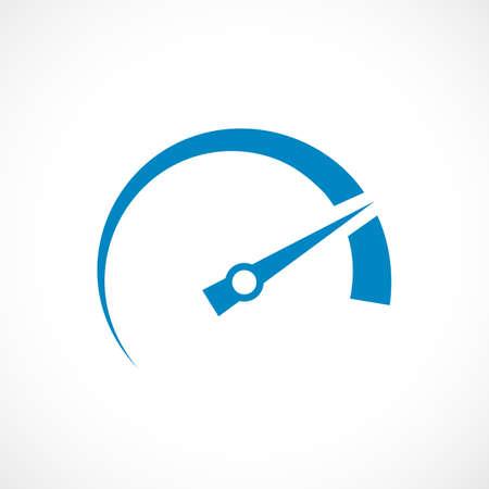 speed test: Speed arrow icon Illustration