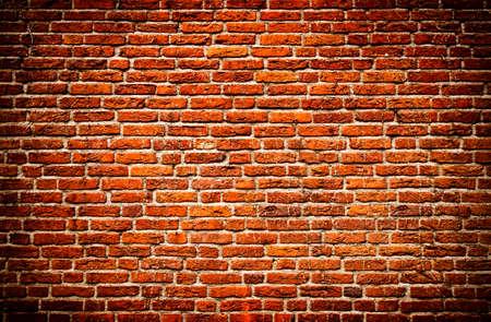 Oude bak stenen muur textuur  Stockfoto