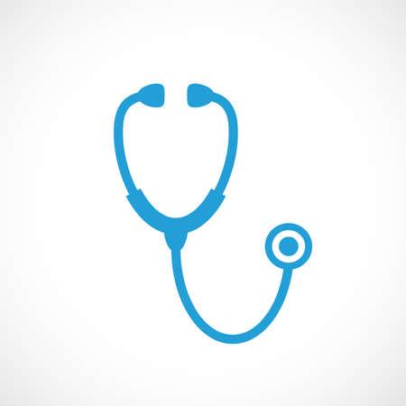 Stethoscope icon Illustration