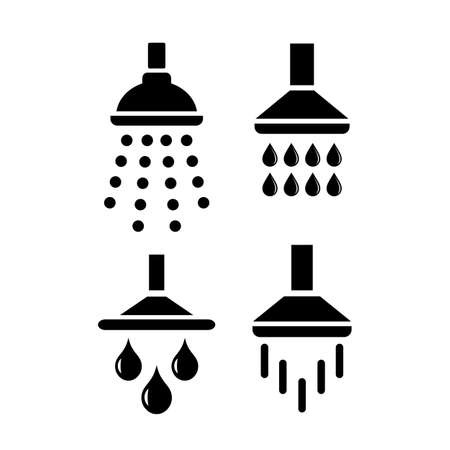 Bath shower icon