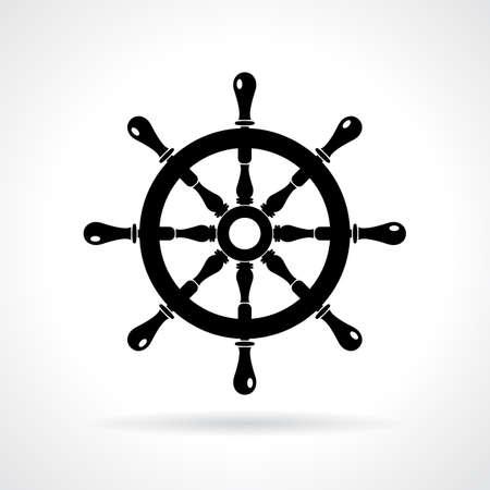 sea mark: Abstract maritime icon