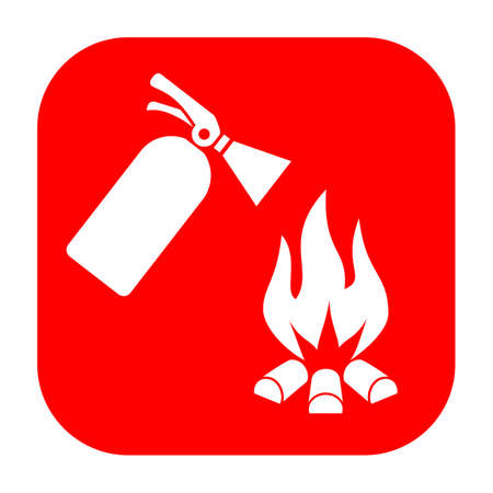 extinguishing: Fire safety sign